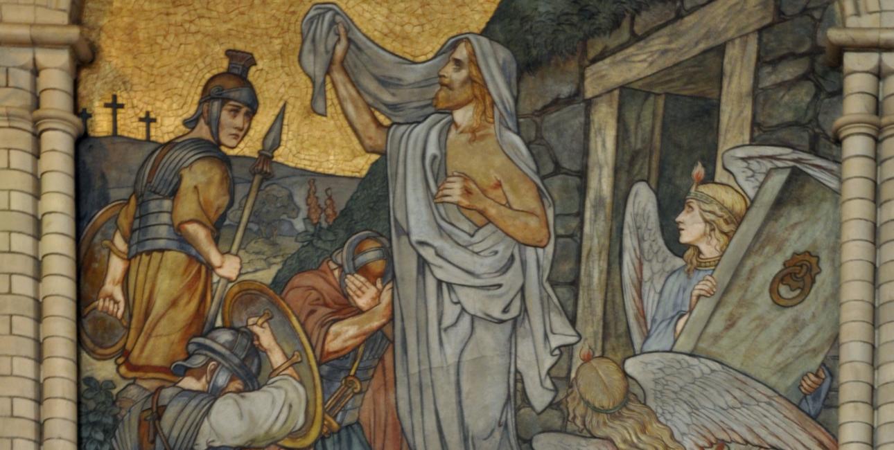 """""""Auferstehung"""" fra Altenburg Brüderkirche"""