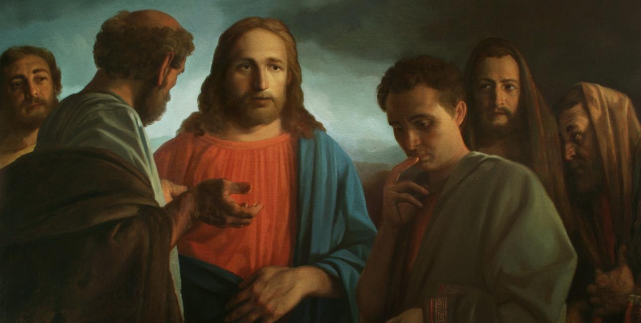 Jesus og den rige, unge mand