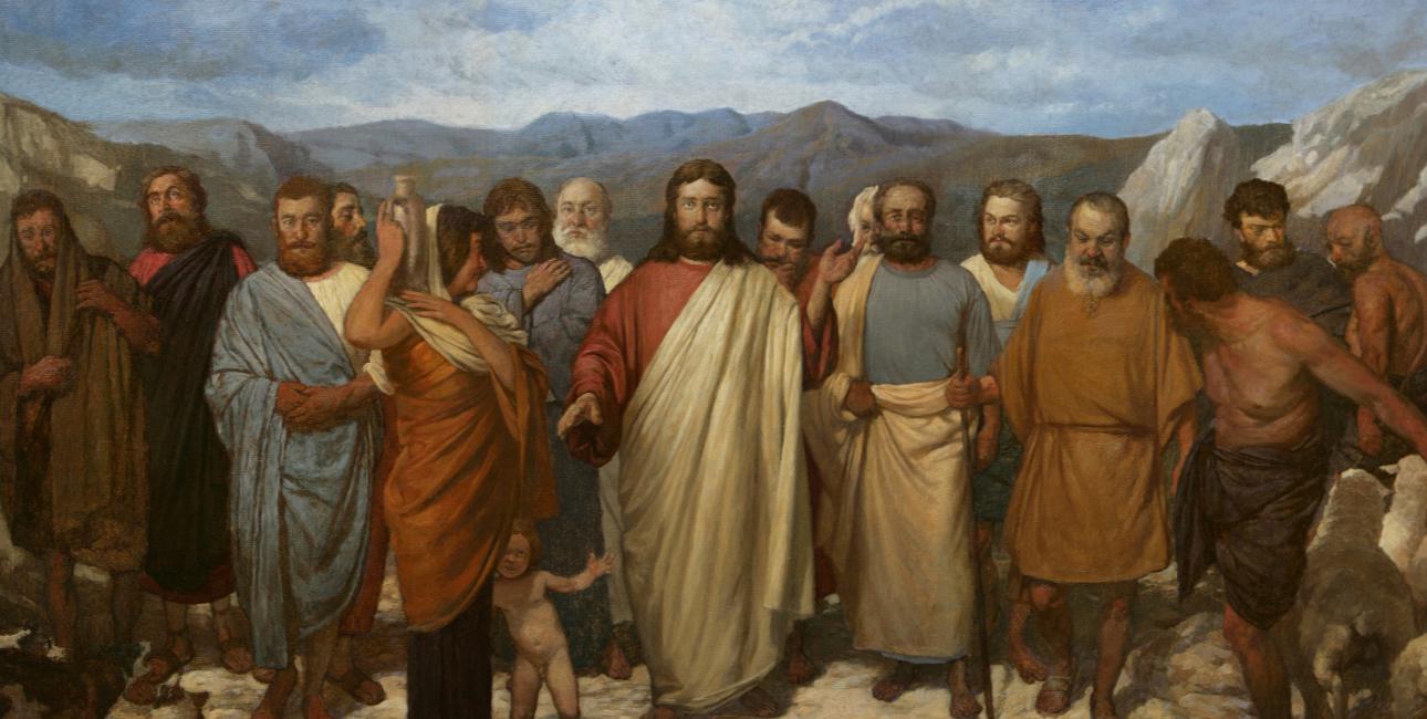 Kristus med disciplene