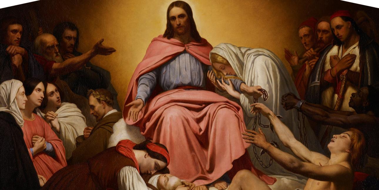 Christus Consolator - af Ary Scheffer
