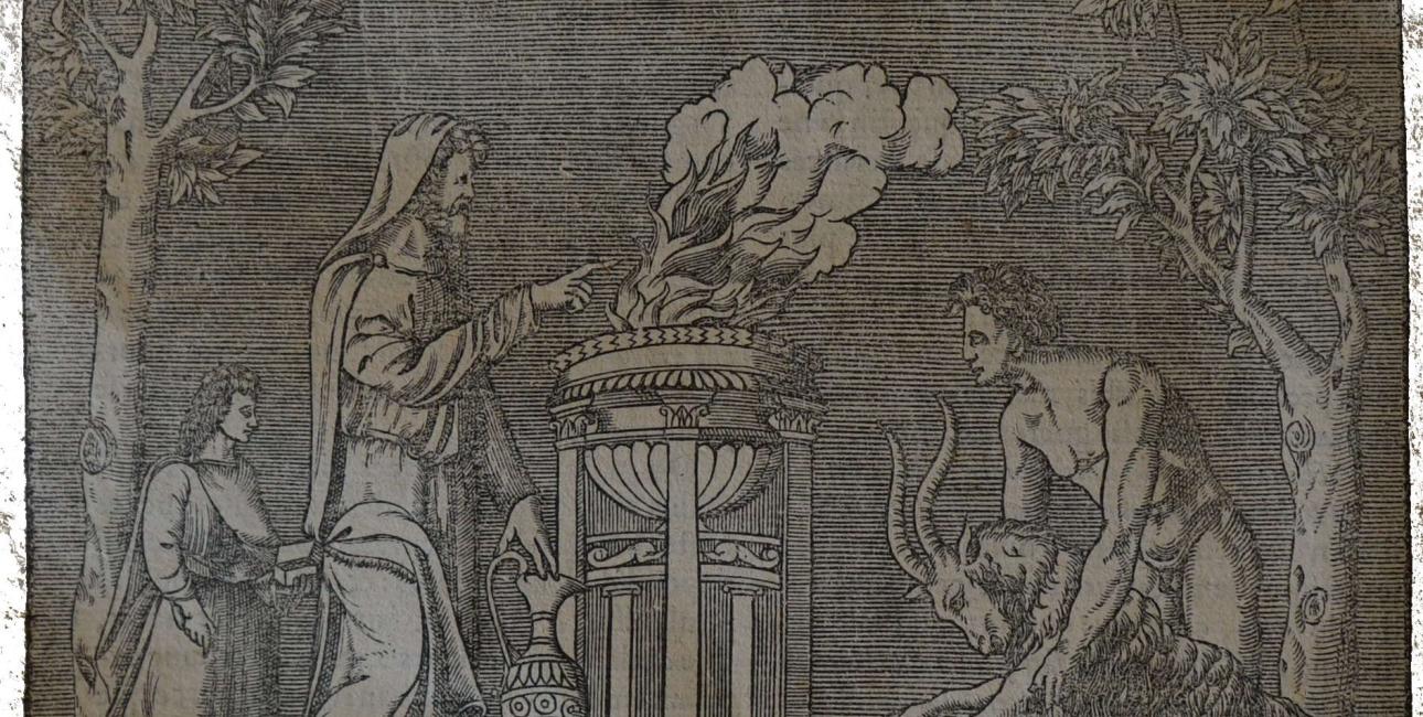 Dyreofring i Rom