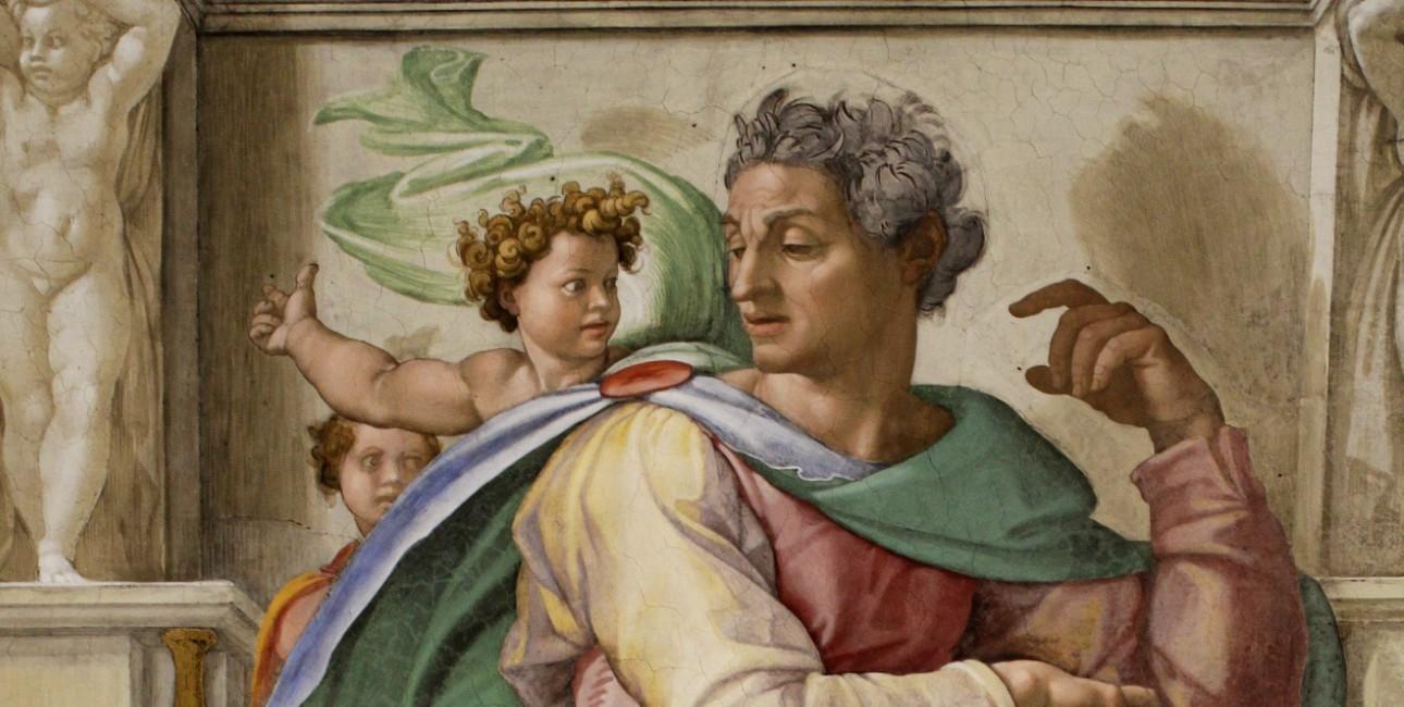 Profeten Esajas af Michelangelo.
