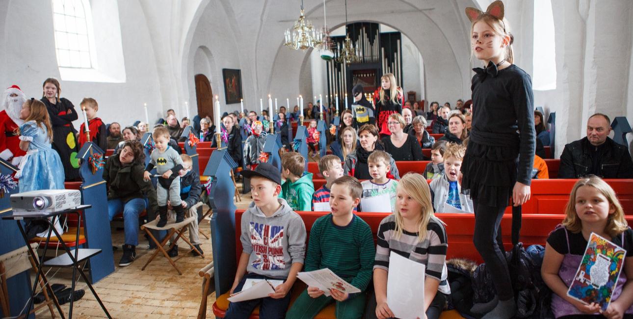 Fastelavnsgudstjenste i Als Kirke