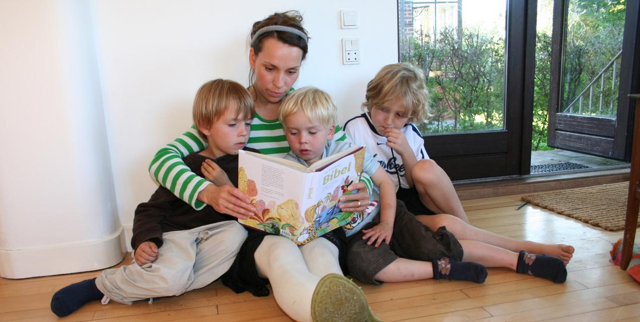 Højtlæsning Børnebibel