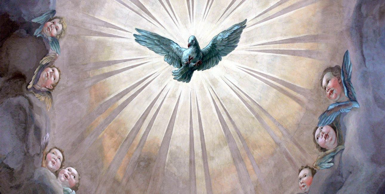 Duen symboliserer Helligånden