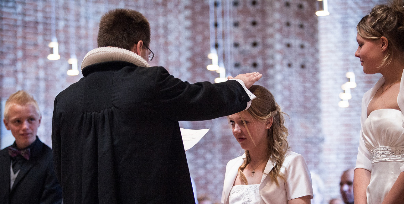 Konfirmation i Nørre Uttrup Kirke