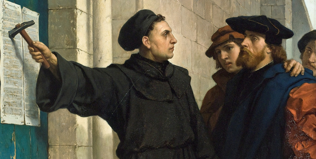 Luthers 95 Teser -  Ferdinand Pauwels
