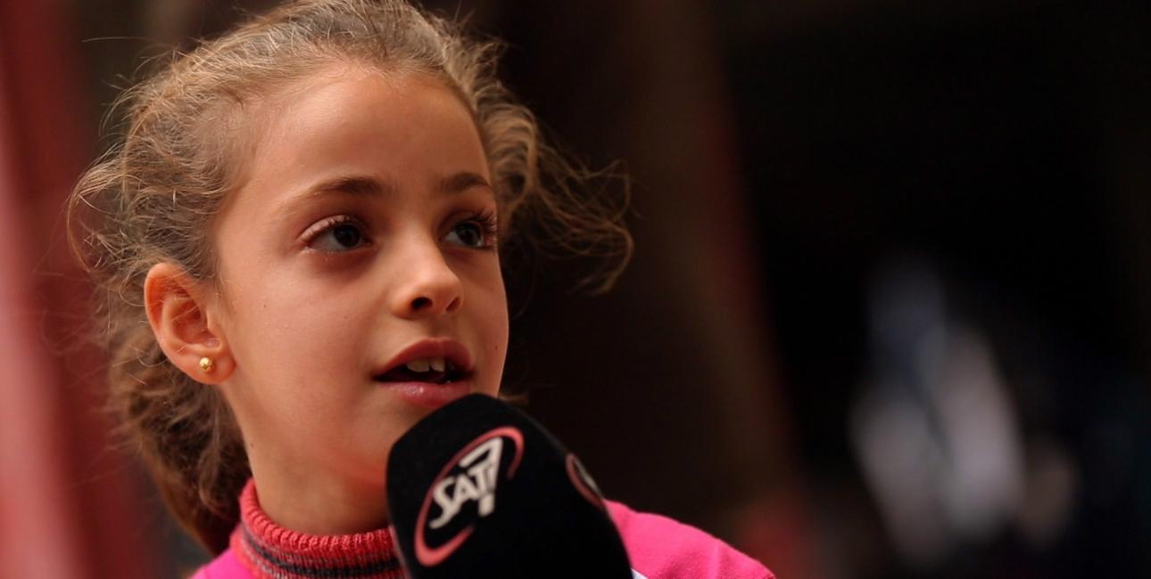 Myriam, 10-årig irakisk flygtning