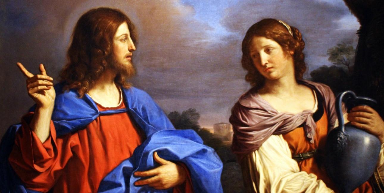 Jesus og Maria Magdalene.