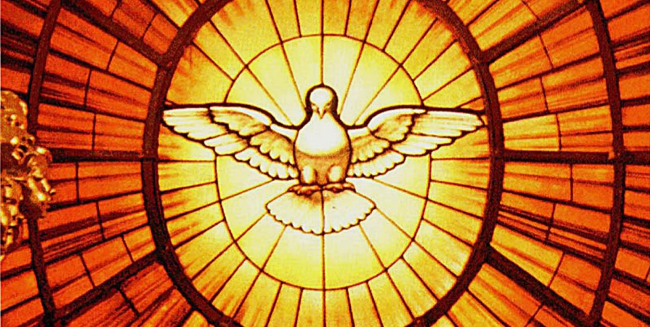 Pinseduen bag alteret i Peterskirken