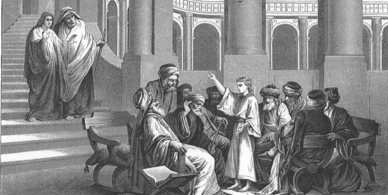 Kristus og farisæerne.