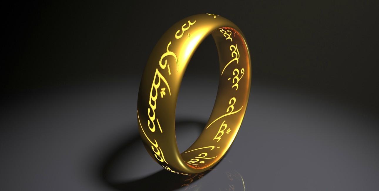 Ringen fra Ringenes Herre.
