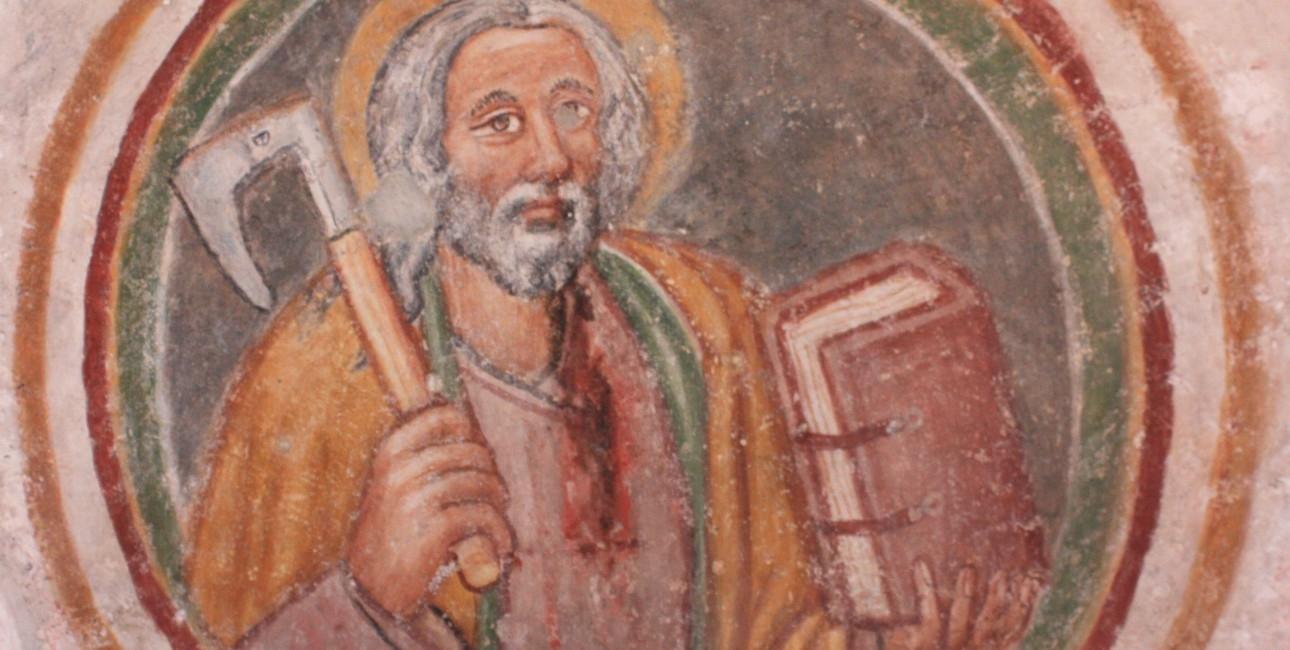 Apostlen Thomas. Findes i Rinkenberg/Vogrce, Østrig.