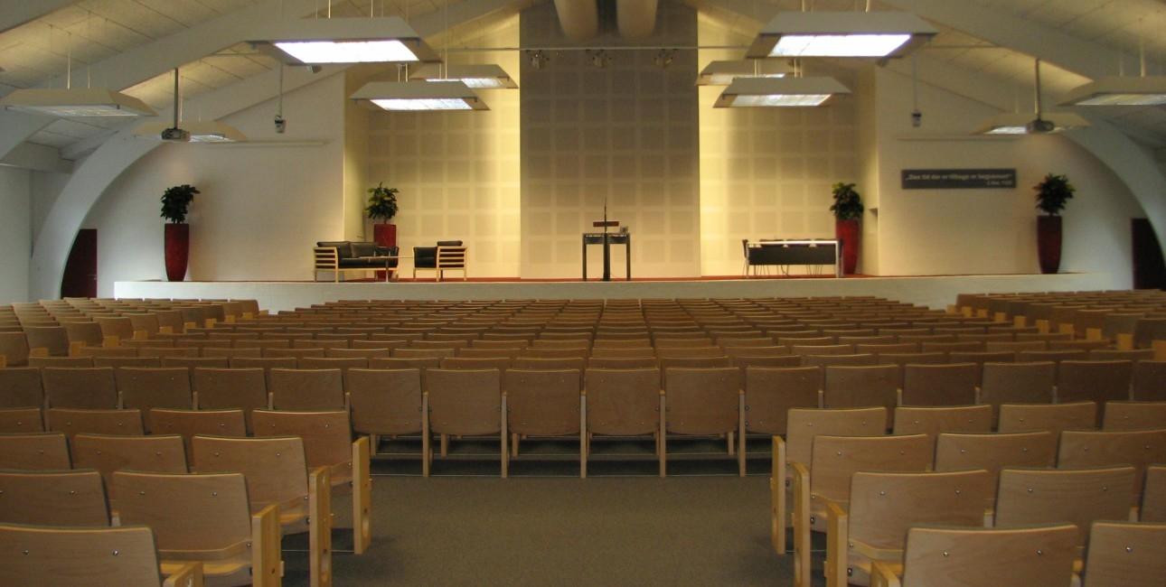 Jehovas Vidners Stævnehal i Silkeborg.