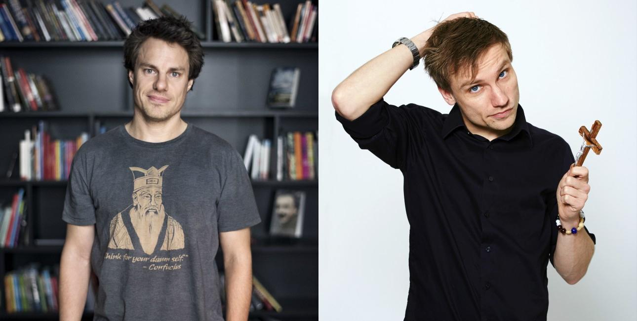 Anders Stjernholm er ateist og Jakob Svendsen er kristen.