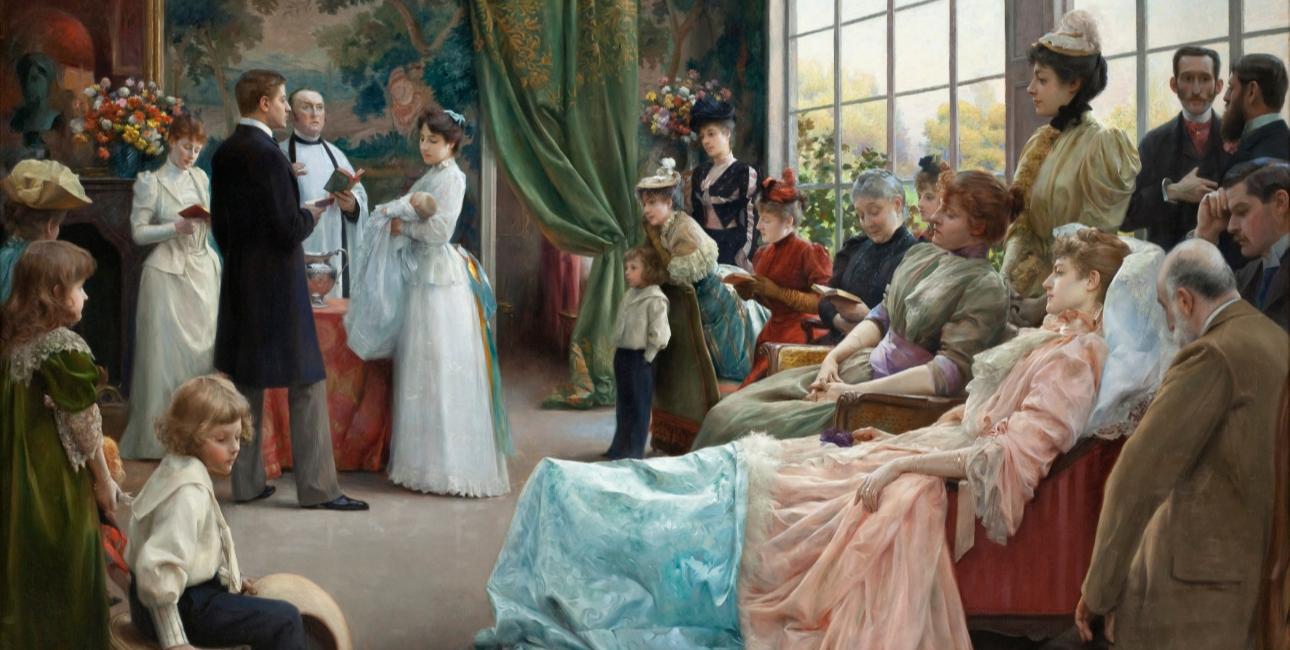 The Baptism - Julius L. Stewart