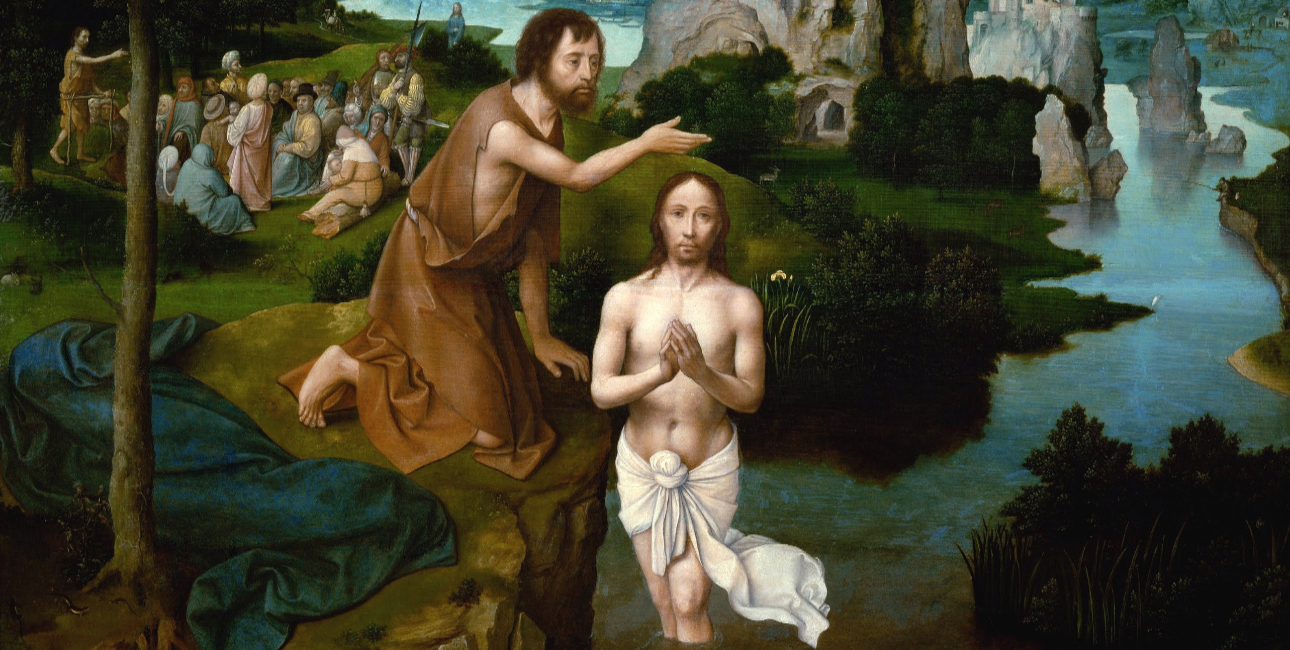 Jesu Dåb af Johannes Døberen