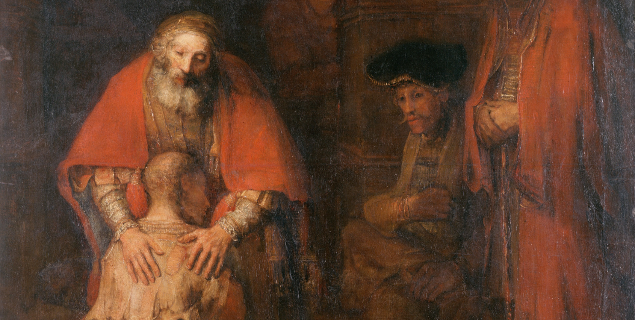 """The Return of the Prodigal Son"" af Rembrandt."