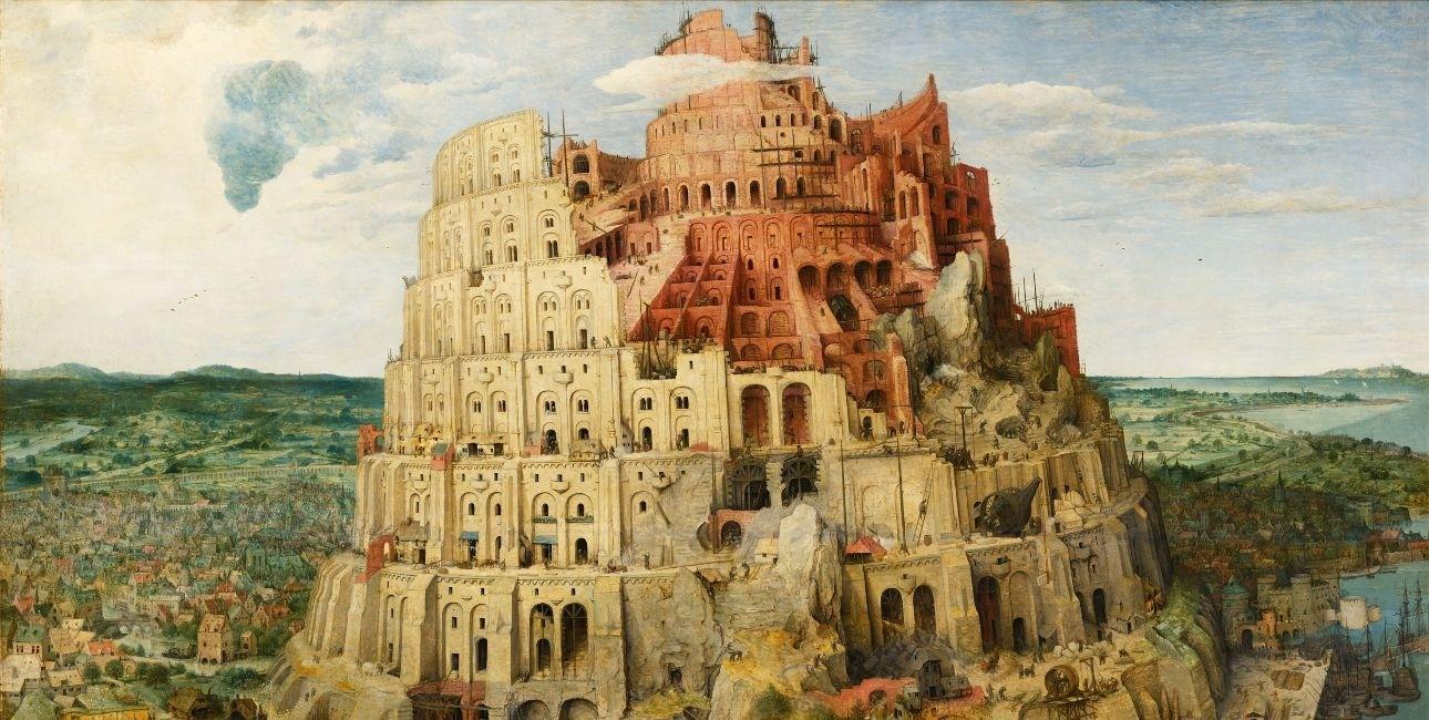"""""""The Tower of Babel"""" - af Pieter Bruegel den Ældre"""