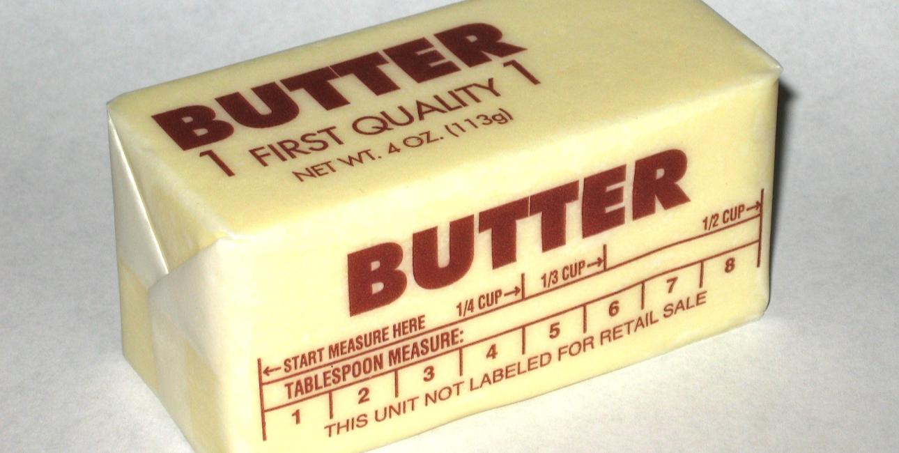 Western-pakke smør