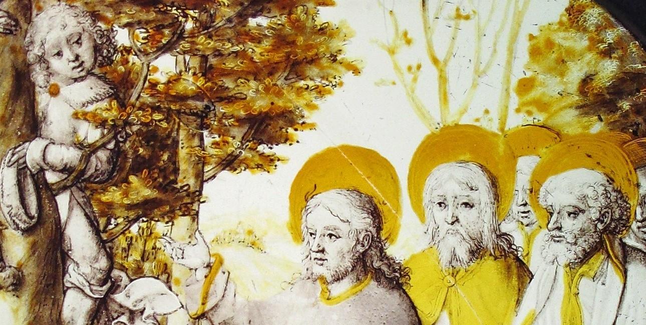 Jesus Kristus og Zakæus. Findes på Metropolitan Museum of Art.