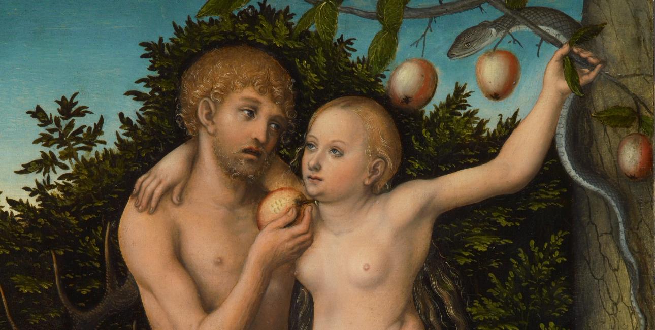 Adam og Eva - Lucas Cranach den Ældre