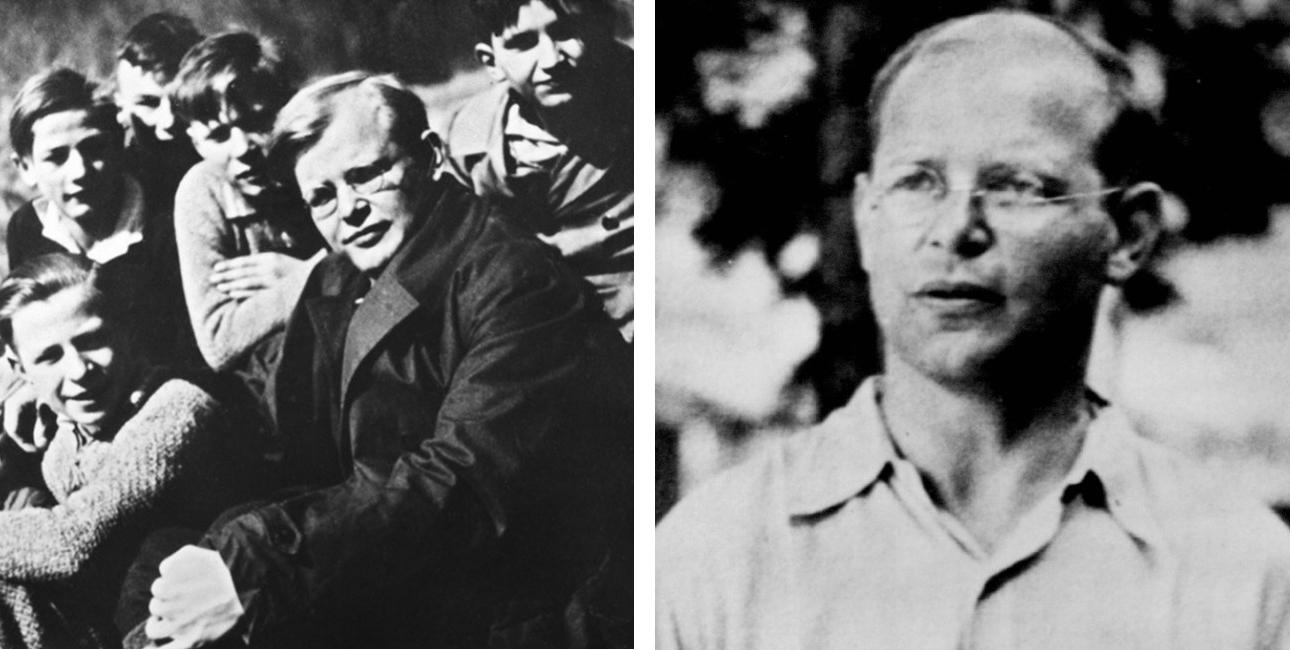 Dietrich Bonhoeffer collage.
