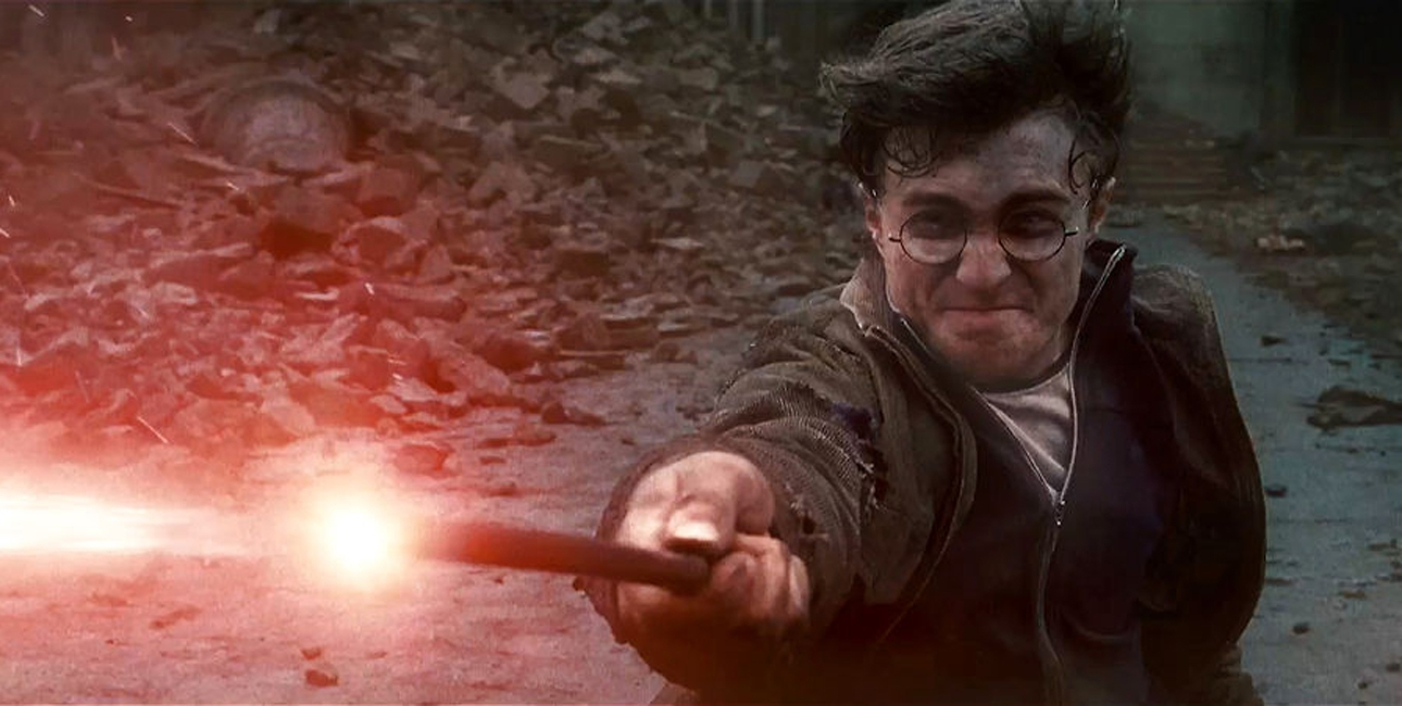 Harry Potter fortællingen er en kæmpesucces som både roman og film. Samtidig er historien stoppet med kristne referencer. Her Daniel Radcliffe i rollen som Harry Potter. Foto: Scanpix.