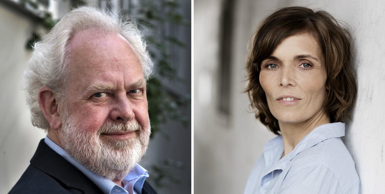 Jens Smærup Sørensen og Anne Lise Marstrand-Jørgensen.