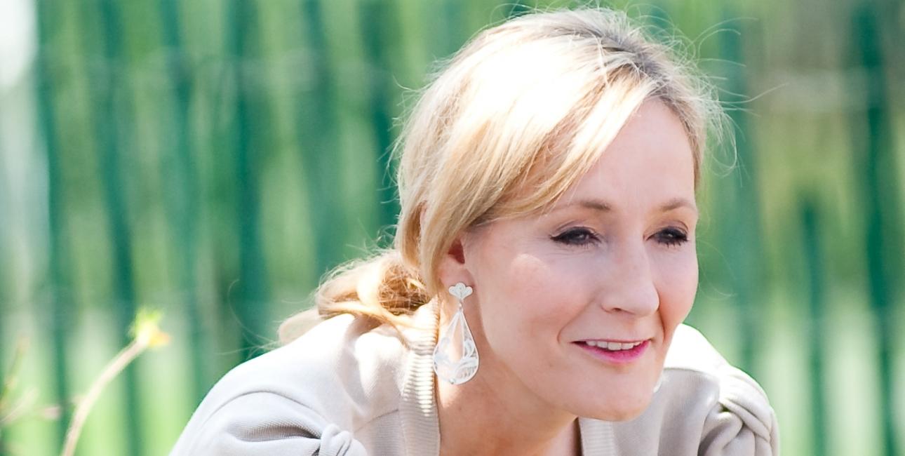 J.K Rowling læser op ved Det Hvide Hus i Washington i 2010. Foto: Daniel Ogren.