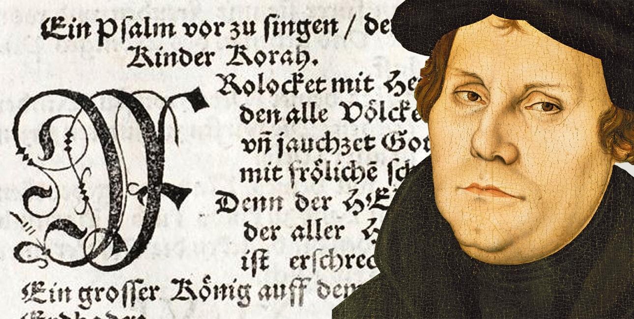 Martin Luther og salmerne