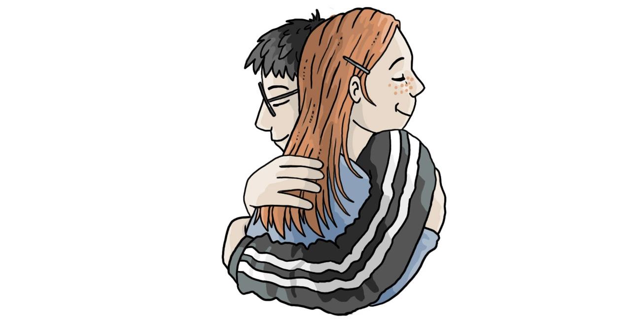 Harry og Ginny. Illustreret af Marie Dyekjær Eriksen.
