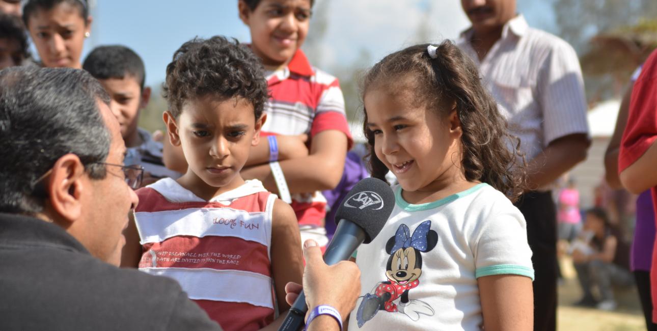 SAT-7 tv er populært. Dens børneflade er prisbelønnet. Foto: SAT-7.