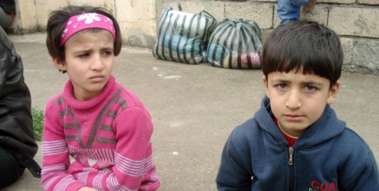 Gang på gang har blodige terrorangreb de senere år ramt den kristne befolkning i Egypten. Angrebene skaber især frygt blandt børnene. En frygt, som SAT-7 har valgt at tage hånd om. Foto: SAT-7
