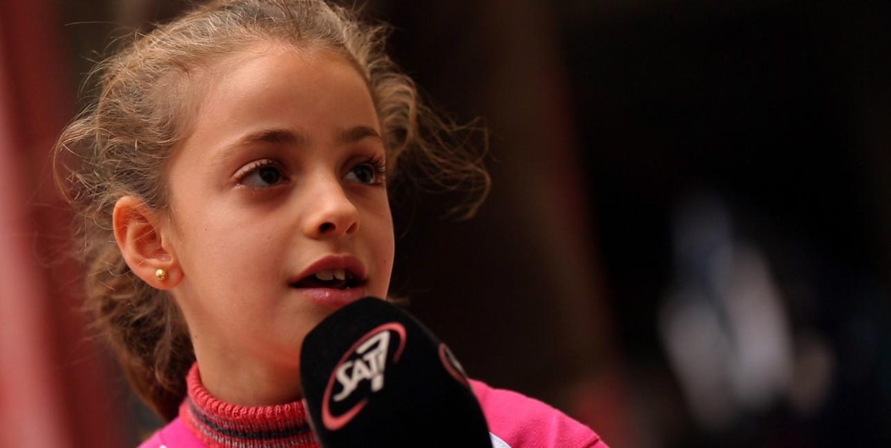Lille piges tro griber verden: Tilgav Islamisk Stat. Foto: SAT-7.