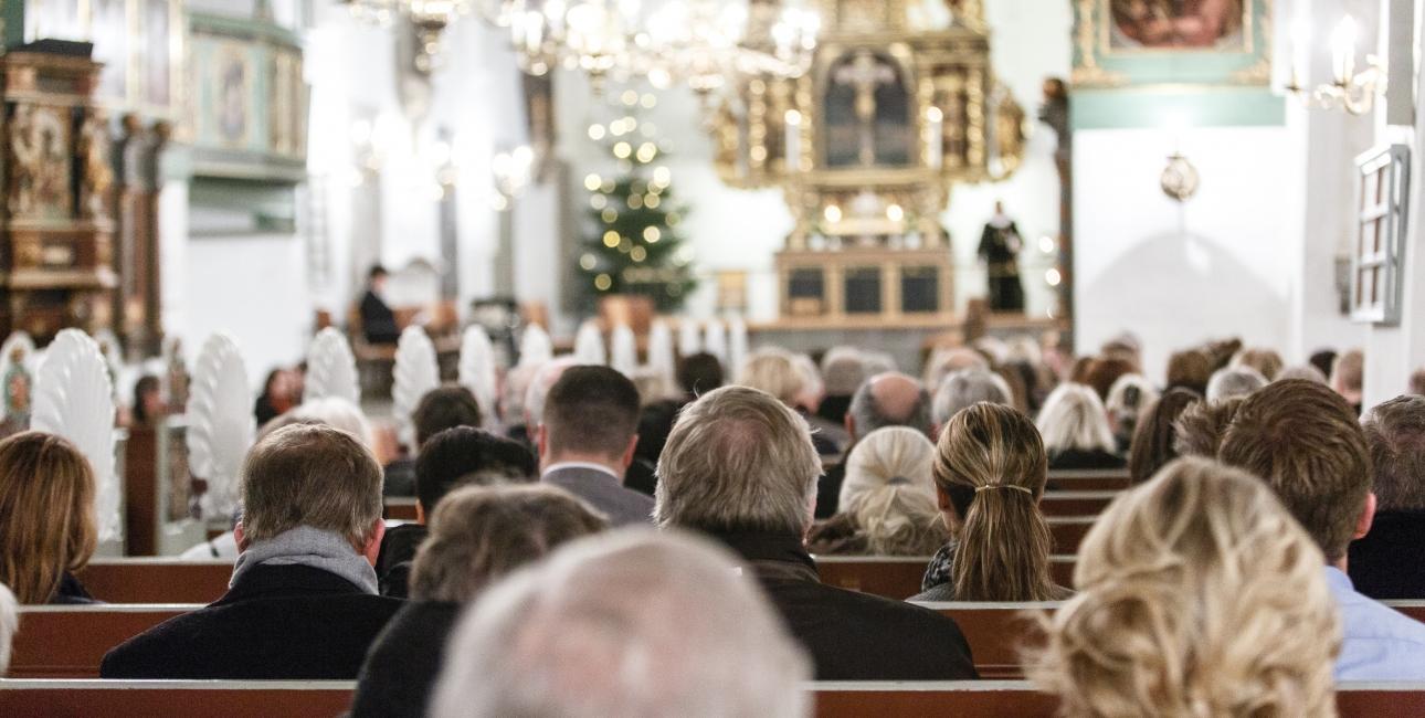 Nytårsgudstjeneste i Aalborg Kirke - Christian Roar Pedersen