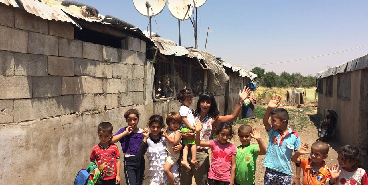 Tusindvis af børn i Mellemøsten og Nordafrikas konfliktplagede lande ser og oplever i disse år ting, som ingen børn burde opleve. SAT-7 når frem til børnene - selv de mest ufremkommelige steder. Foto: SAT-7