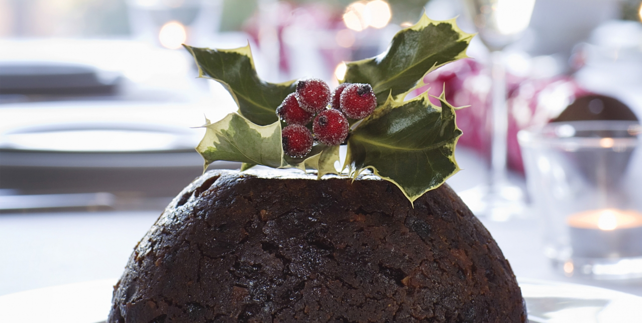 Engelsk Christmas Pudding. Foto: Jeppe Sloth Carlsen.
