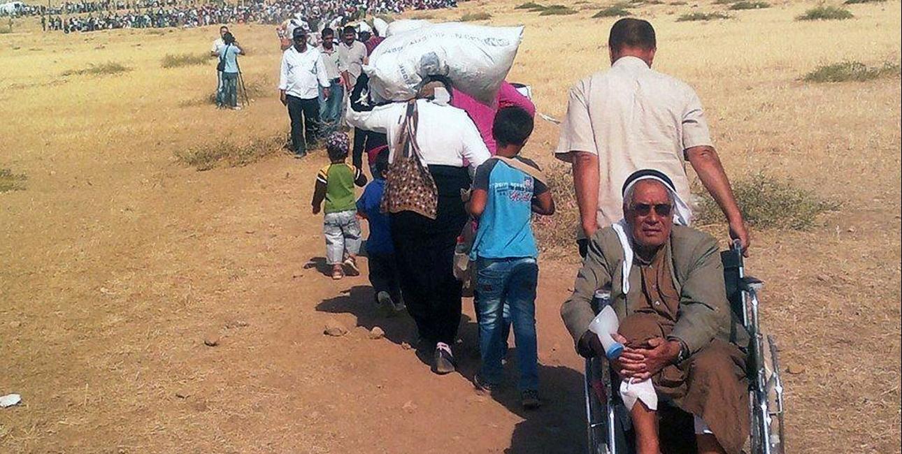 Det anslås, at mere end 12.000 kristne irakere er flygtet til Erbil i det irakiske Kurdistan. Aida og hendes familie er blandt de mange, som er drevet på flugt af den militante terrorgruppe IS (Islamisk Stat). Foto: The European Commission/Flickr