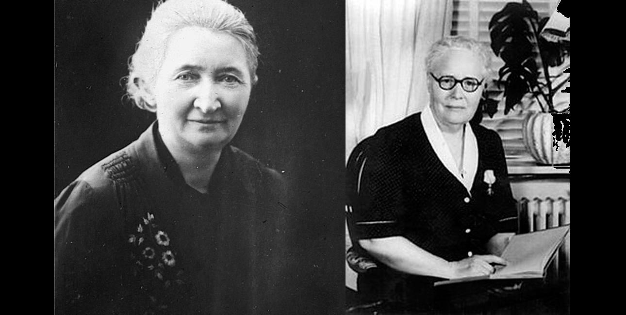 Lærerinde Karen Jeppe (tv.) og sygeplejerske Maria Jacobsen satte livet på spil for at redde ofrene for det armenske folkedrab. Fotos: folkedrab.dk