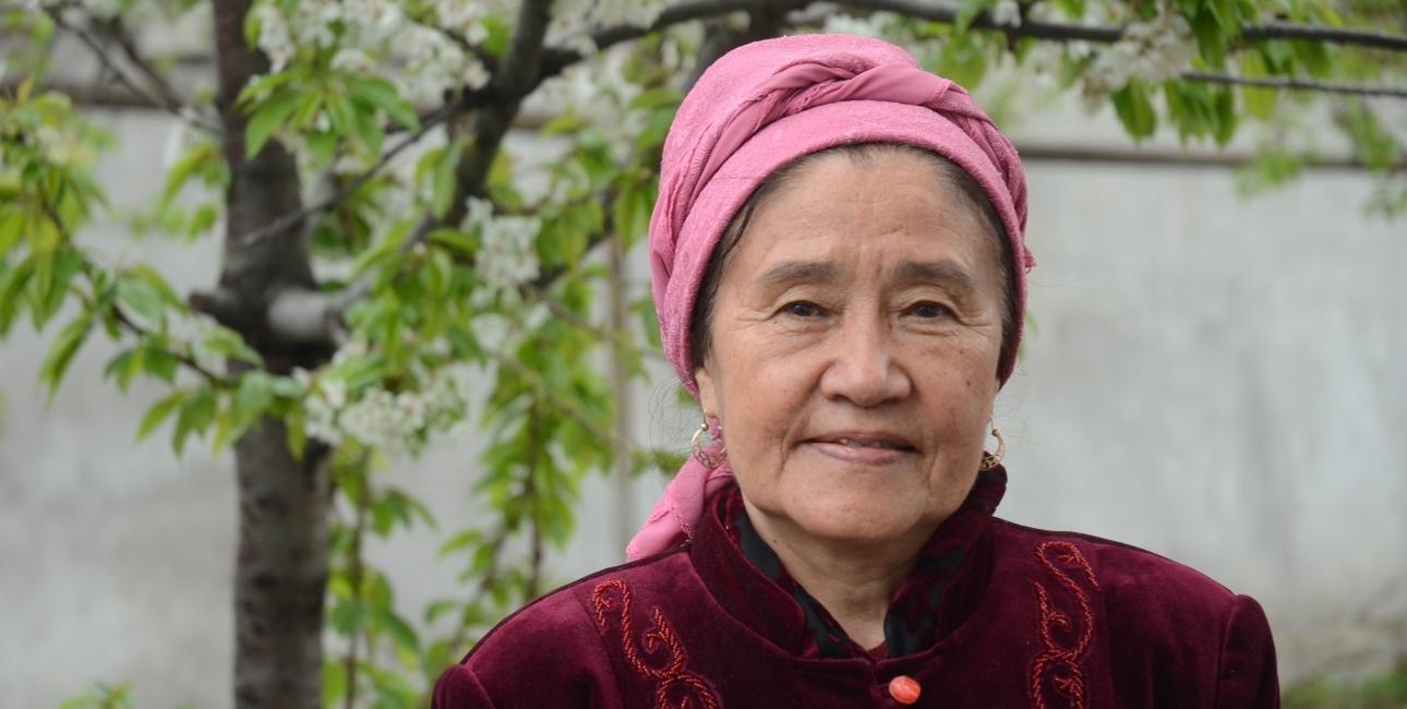 Keremet er pensioneret overlæge. Hun voksede op som muslim, men er konverteret til kristendommen. Foto: Yurii Petrenko