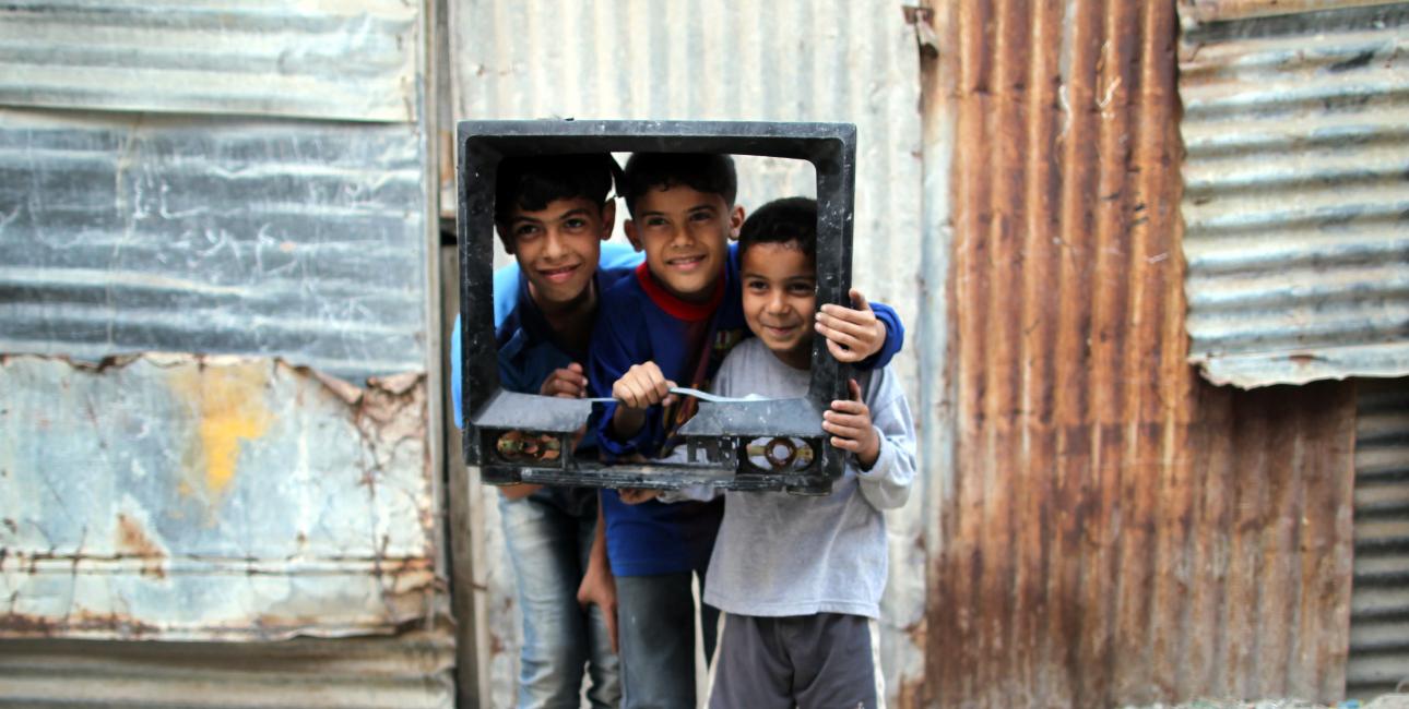 SAT-7 har oprettet kanalen SAT-7 Academy, for at børn kan komme i skole. Foto: Scanpix.