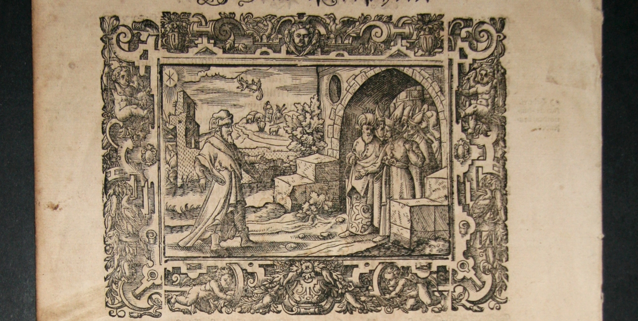 Christian d. III's bibel. Kærlighedens højsang: Fra bibeltekst til poptekst.