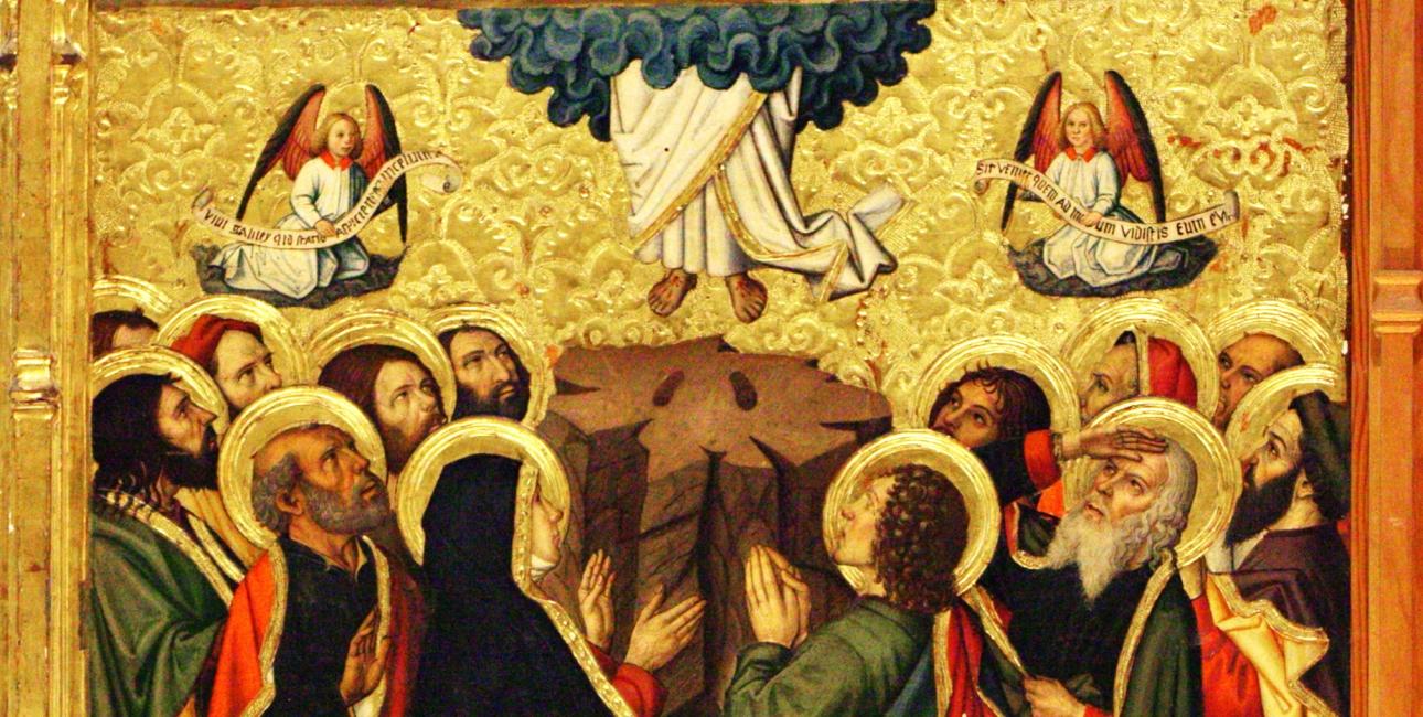 Udsnit af altertavle, af Jaume Huguet, 1464-1475, The Catedral of Saint Mary of Tortosa, Spain