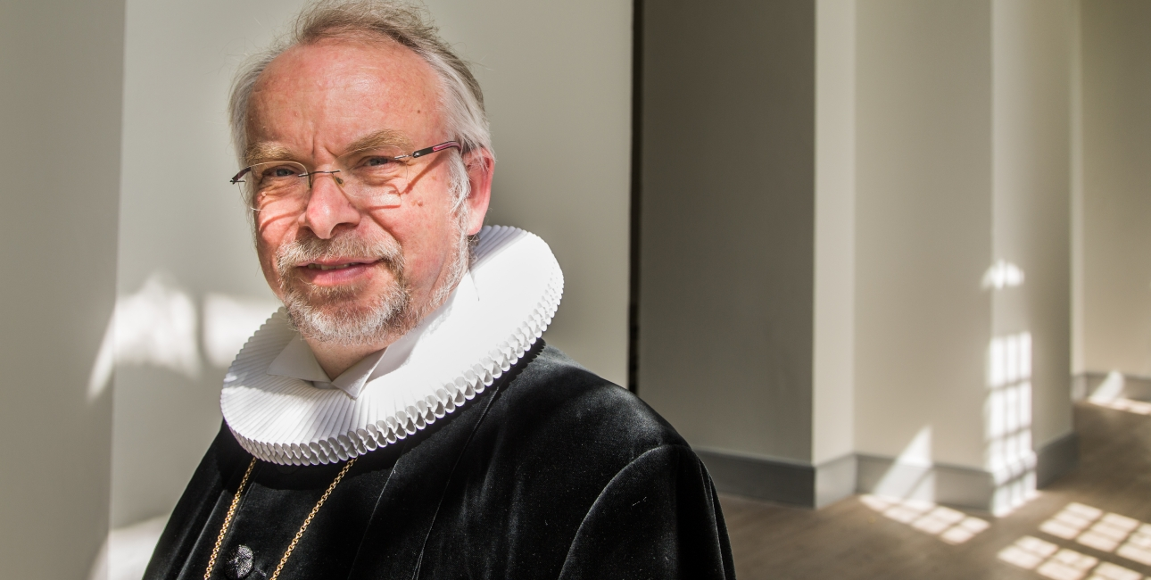 Peter Skov-Jakobsen. Foto: Sille Arendt/kirkenikbh.dk.