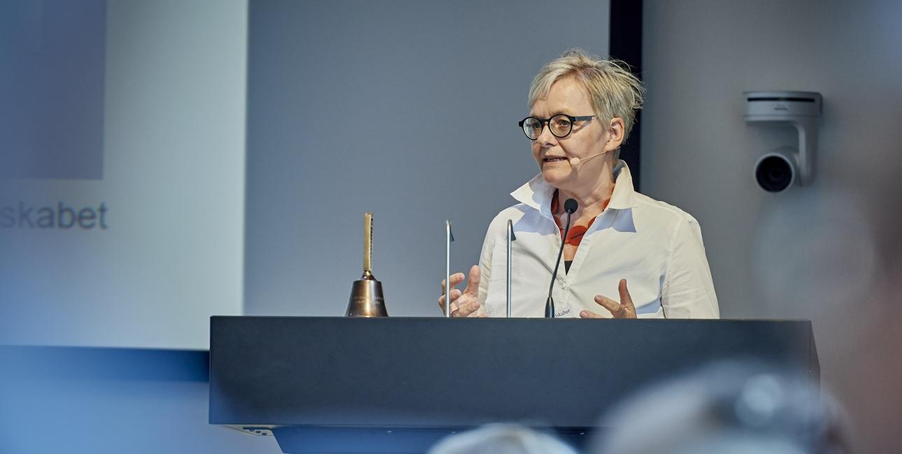 Birgitte, repræsentantskabsmøde 2018. Foto: Carsten Lundager.