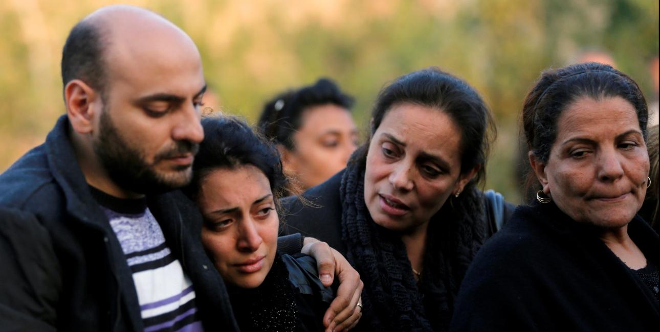 Begravelse i Egypten. Foto: Scanpix/Amr Abdallah Dalsh