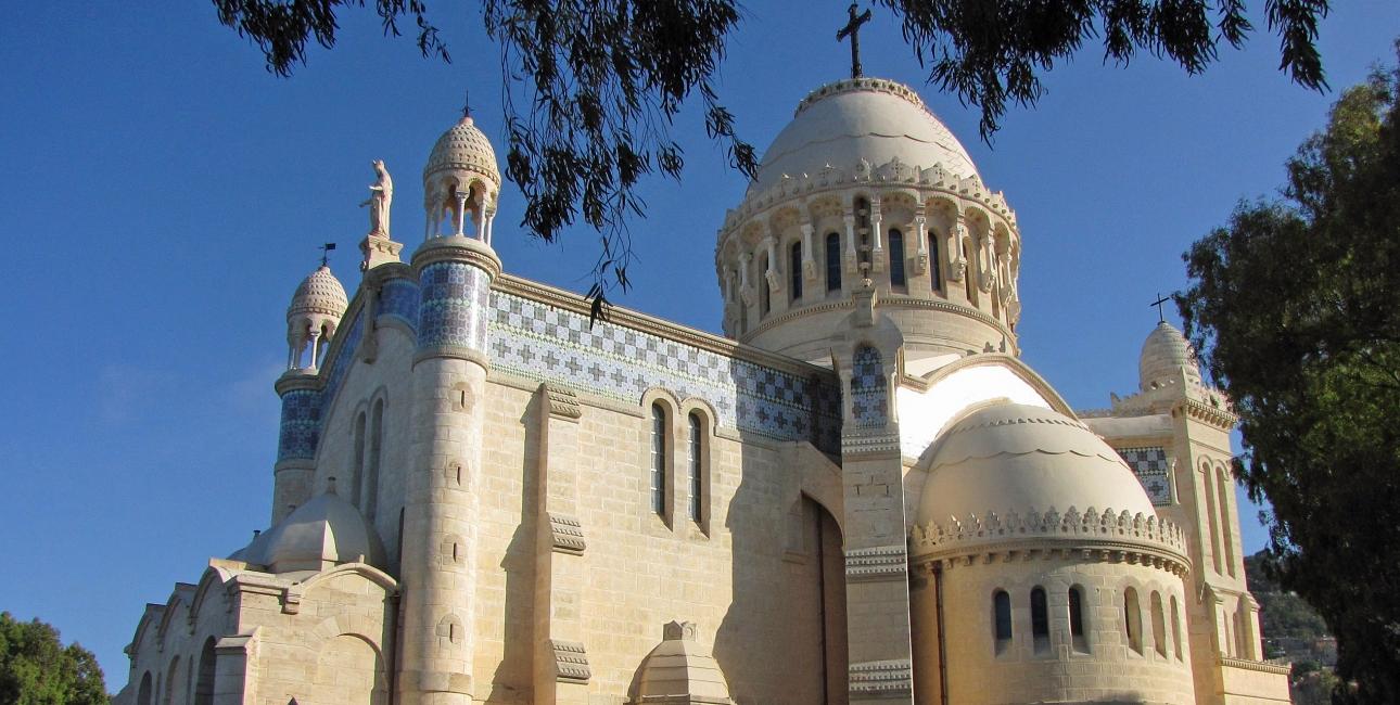 Kirke i Algeriet. Foto:
