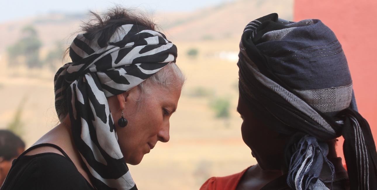 Synne Garff i Swaziland. Foto: Adam Garff.