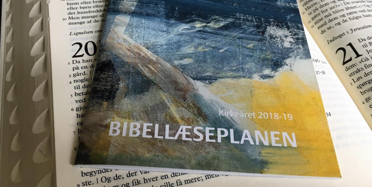 Bibellæseplanen 2018-19